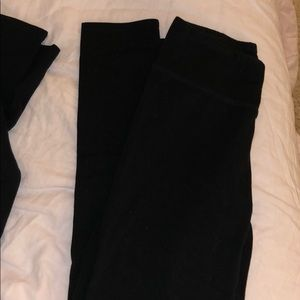 3 aerie leggings (black)